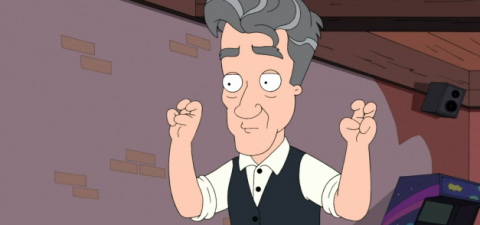 @David_Lynch on the Cleveland Show