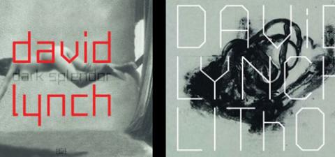 @David_Lynch signs David Lynch: Dark Splendor & David Lynch: Lithos Books